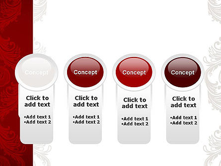 Classic Ornament PowerPoint Template Slide 5