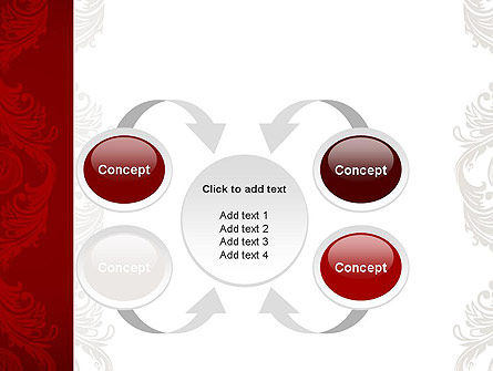 Classic Ornament PowerPoint Template Slide 6