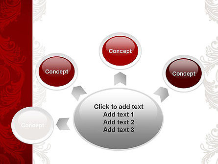Classic Ornament PowerPoint Template Slide 7
