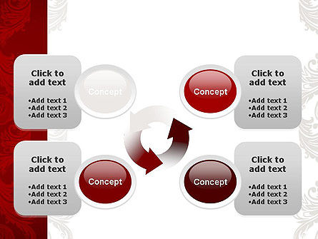 Classic Ornament PowerPoint Template Slide 9
