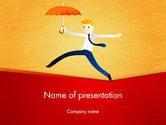Business Concepts: Balancing on the Rope PowerPoint Template #12544