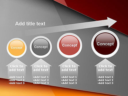 Abstract Solid Layers PowerPoint Template Slide 13