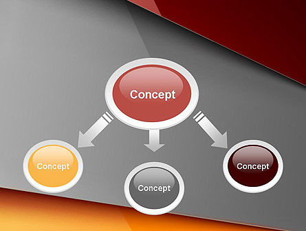 Abstract Solid Layers PowerPoint Template Slide 4