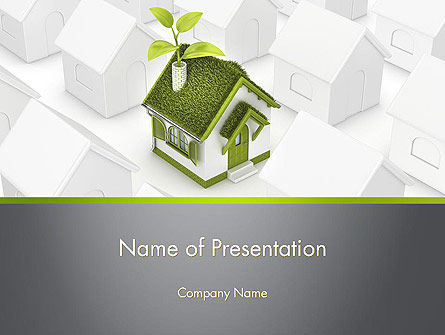 Green Deal PowerPoint Template, 12546, Nature & Environment — PoweredTemplate.com