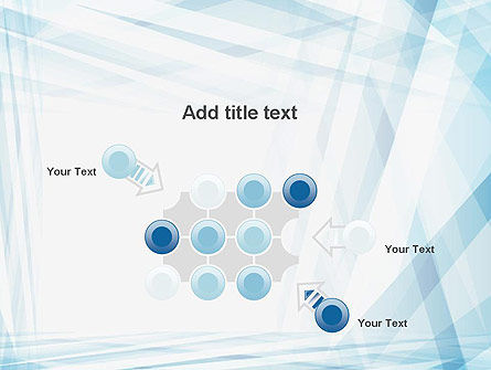 Creative Abstract Blue PowerPoint Template Slide 10