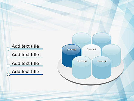 Creative Abstract Blue PowerPoint Template Slide 12