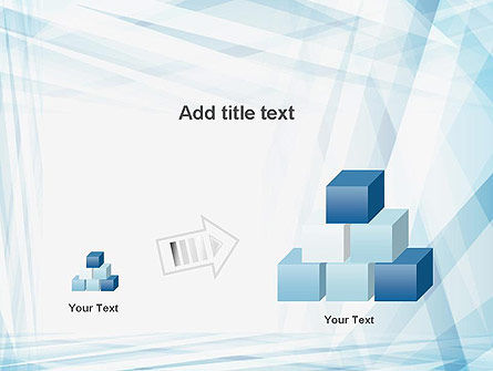 Creative Abstract Blue PowerPoint Template Slide 13