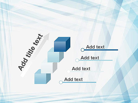 Creative Abstract Blue PowerPoint Template Slide 14
