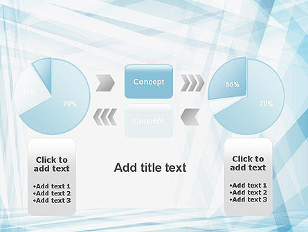 Creative Abstract Blue PowerPoint Template Slide 16