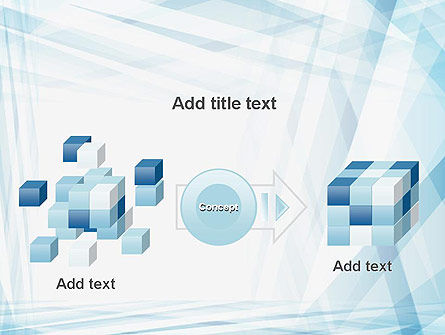 Creative Abstract Blue PowerPoint Template Slide 17