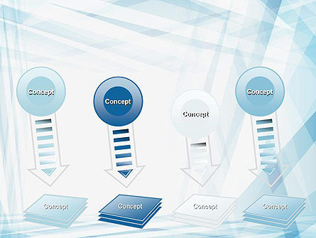 Creative Abstract Blue PowerPoint Template Slide 8