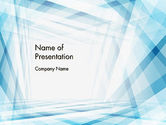 Abstract/Textures: Creative Abstract Blue PowerPoint Template #12547