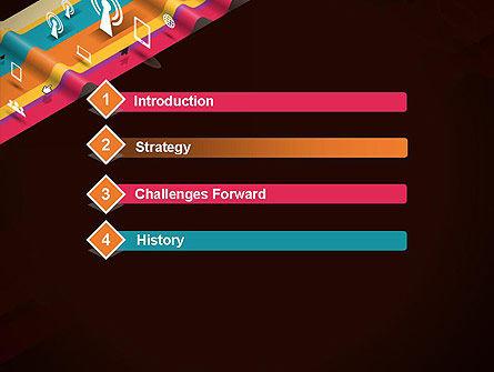 Data Transmission Concept PowerPoint Template, Slide 3, 12548, Telecommunication — PoweredTemplate.com