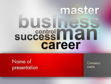 Control Success Career PowerPoint Template