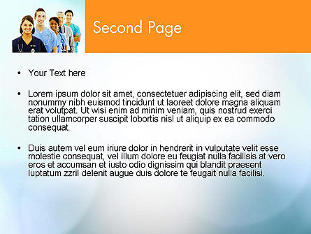 Physicians PowerPoint Template, Slide 2, 12558, Medical — PoweredTemplate.com