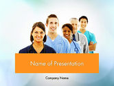 Medical: Physicians PowerPoint Template #12558