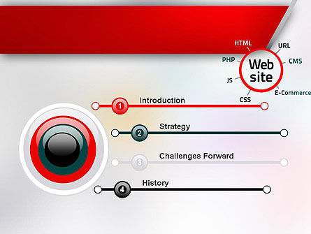 Website Technology PowerPoint Template, Slide 3, 12559, Technology and Science — PoweredTemplate.com