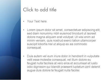 Blue Transparent Layers PowerPoint Template, Slide 3, 12560, Abstract/Textures — PoweredTemplate.com