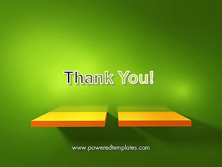Yellow Boards on Green Wall PowerPoint Template Slide 20