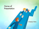 Careers/Industry: Business Mutual Funds PowerPoint Template #12568