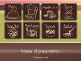 Food & Beverage: Restaurant Menu PowerPoint Template #12571