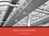 Careers/Industry: Airconditioning PowerPoint Template #12576
