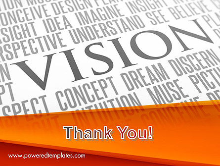 Vision Plan PowerPoint Template Slide 20