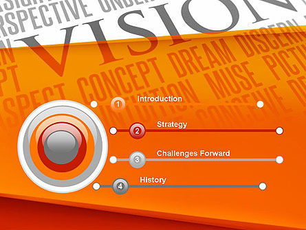 Vision Plan PowerPoint Template, Slide 3, 12577, Business Concepts — PoweredTemplate.com