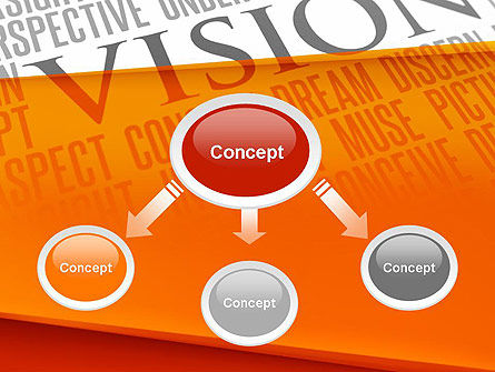 Vision Plan PowerPoint Template, Slide 4, 12577, Business Concepts — PoweredTemplate.com