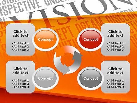 Vision Plan PowerPoint Template Slide 9
