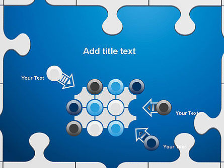 Jigsaw Puzzle Pieces PowerPoint Template Slide 10