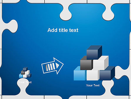 Jigsaw Puzzle Pieces PowerPoint Template Slide 13
