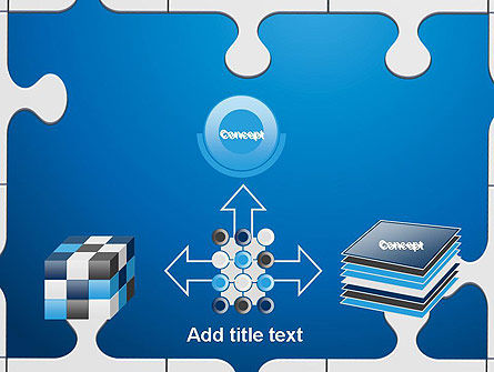 Jigsaw Puzzle Pieces PowerPoint Template Slide 19