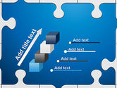 Jigsaw Puzzle Pieces PowerPoint Template#14