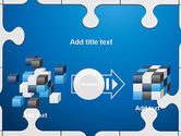 Jigsaw Puzzle Pieces PowerPoint Template#17