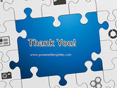 Jigsaw Puzzle Pieces PowerPoint Template#20