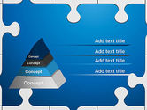 Jigsaw Puzzle Pieces PowerPoint Template#4