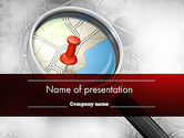 Careers/Industry: Find Destination PowerPoint Template #12583
