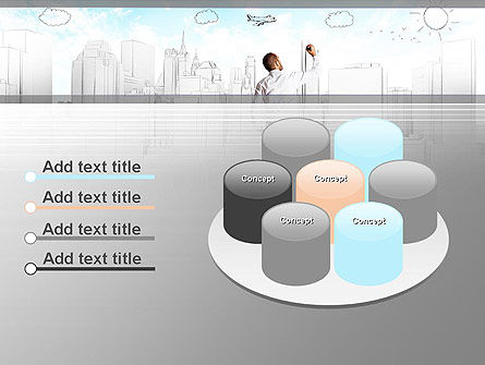 Creating Future PowerPoint Template Slide 12