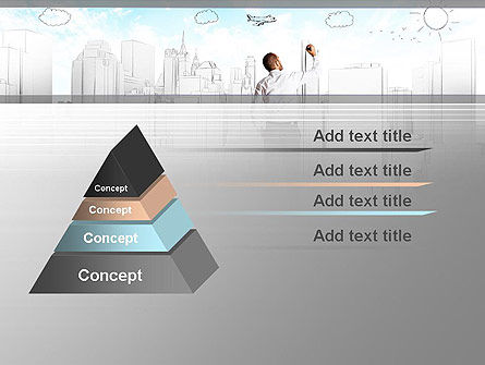 Creating Future PowerPoint Template, Slide 4, 12584, Business Concepts — PoweredTemplate.com