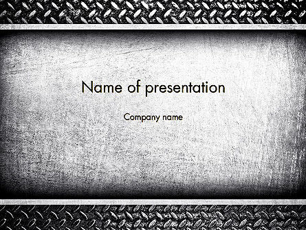 Metal Texture PowerPoint Template