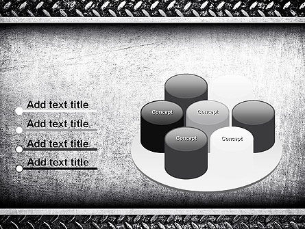 Metal Texture PowerPoint Template Slide 12