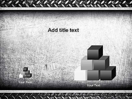 Metal Texture PowerPoint Template Slide 13