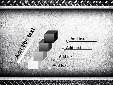 Metal Texture PowerPoint Template Slide 14