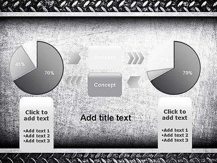 Metal Texture PowerPoint Template Slide 16