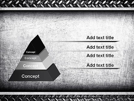 Metal Texture PowerPoint Template Slide 4