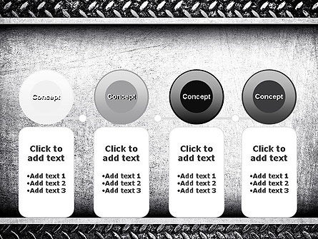 Metal Texture PowerPoint Template Slide 5