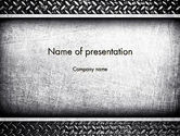 Abstract/Textures: Metal Texture PowerPoint Template #12587