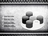 Metal Texture PowerPoint Template#12