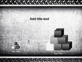 Metal Texture PowerPoint Template#13